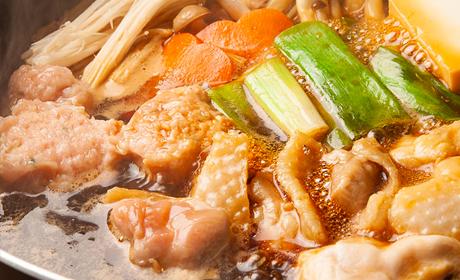 写真:【名古屋コーチン】鶏すき焼御膳