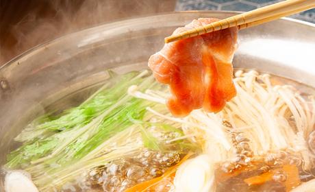 写真:【名古屋コーチン】鶏しゃぶしゃぶ御膳