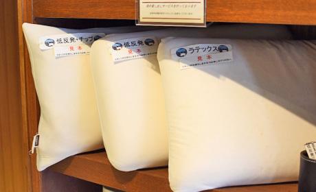 選べる枕6種類